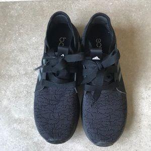 adidas Shoes Bounce Edge Lux All Black Black Black Sz 9 Poshmark 573366